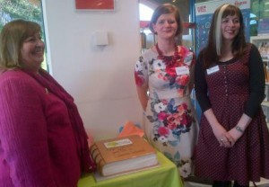 (From left) Julie Dent, Ciara Eastell and Claire Barker